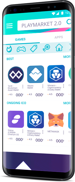DAO Playmarket 2.0 is a new era of mobile applications